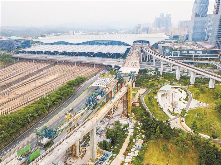 地铁6号线高架段接近完工