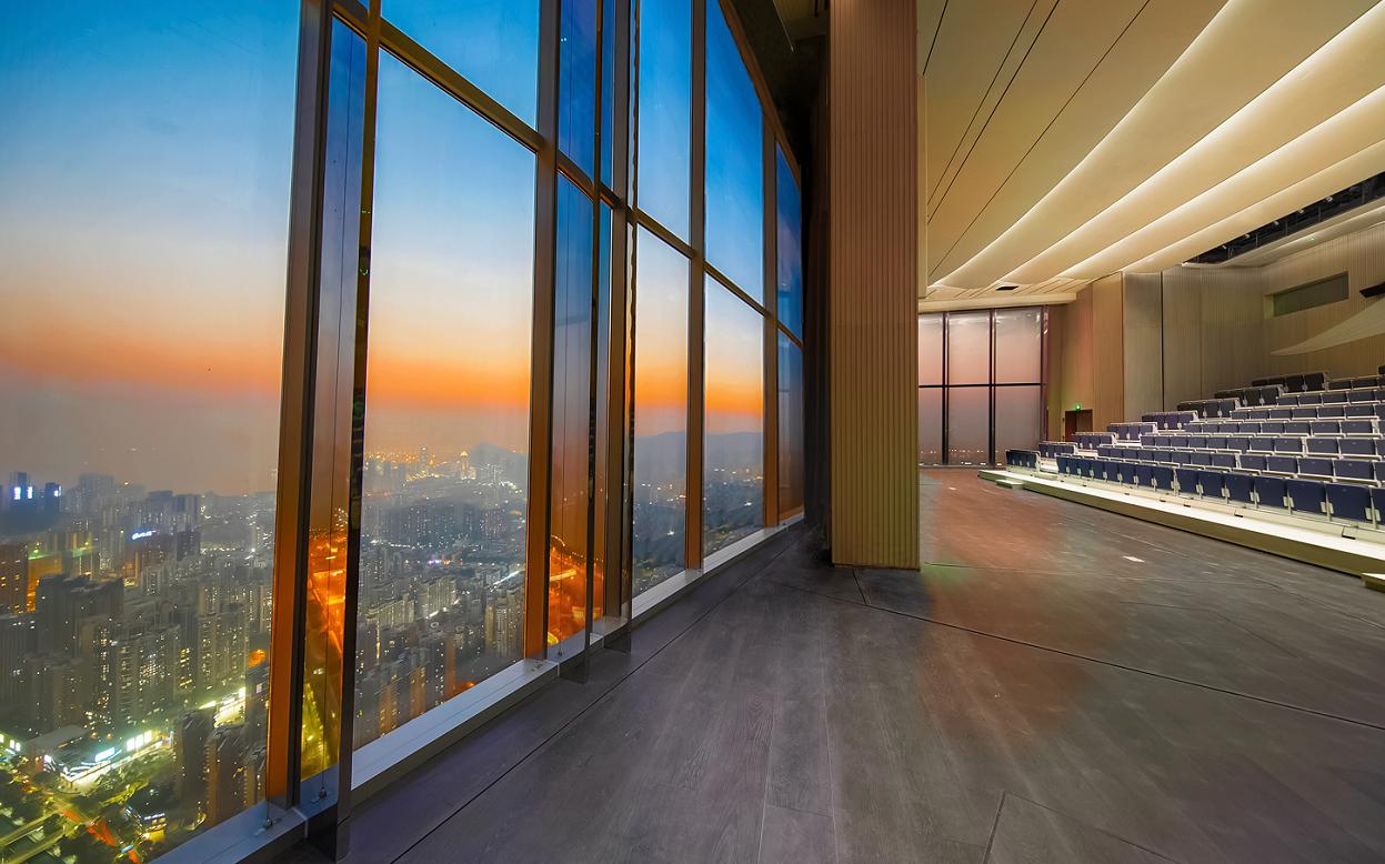 深圳灣1號圓滿落成 世界最高音樂廳云端啟幕