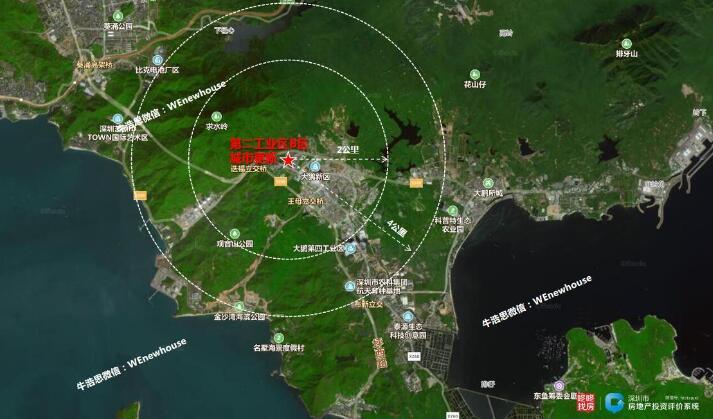37万㎡大鹏企业研发总部启动 第二工业区B区城市更新