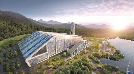 宝安能源生态园:藏在群山中的大花园