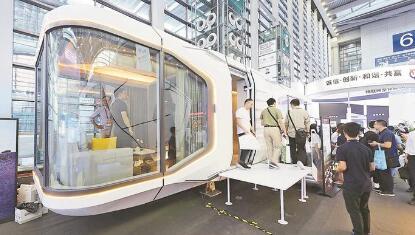 全球首个可移动智慧建筑亮相6号馆