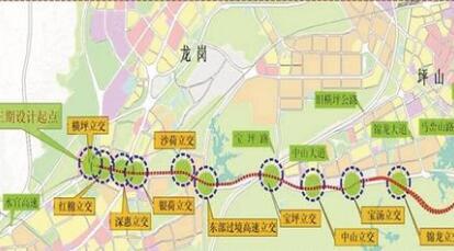 南坪快速路三期工程全线通车 驾车从坪山到市区仅需40分钟