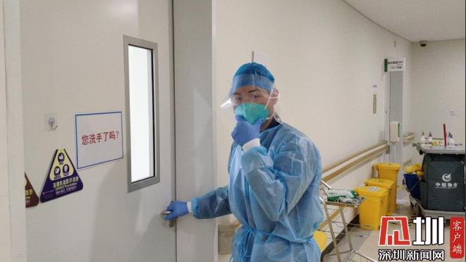 抗疫物业人 | 24岁的他提着工具箱走向隔离病区