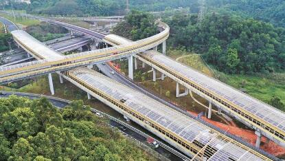 坂银通道基本完工 预计5月启用