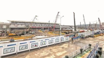 大运综合交通枢纽预计2022年建成