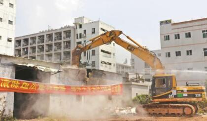 龙华区今年已拆除消化违建260万平方米