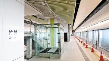 地铁4号线延长线年内将全线开通