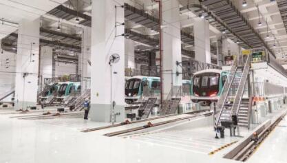 """破解多个工程难题!深圳地铁6号线 """"穿山越水""""而来"""
